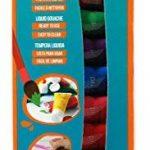 Pébéo 636702 Primacolor Kit découverte de peinture 12 tubes de 20 ml Assorties de la marque Pébéo image 1 produit