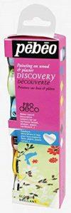 Pébéo 753411 Déco Collection Découverte 6 Flacons Brillant Assortis 20 ml de la marque Pébéo image 0 produit