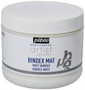 Pébéo Bindex Liant mat transparent, 500ml de la marque Pébéo image 0 produit