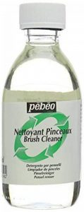 Pébéo Nettoyant pour pinceaux 245ml - Transparent de la marque Pébéo image 0 produit