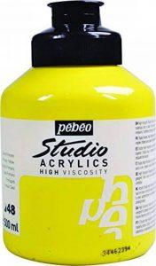 Pébéo Peinture Acryliques Pot de 500 ml Jaune Primaire de la marque Pébéo image 0 produit