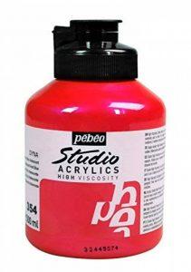 Pébéo Peinture Acryliques Pot de 500 ml Rouge Bleu Iridescent de la marque Pébéo image 0 produit