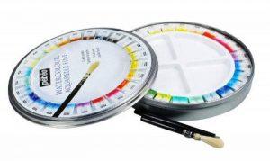 Pébéo Peinture Aquarelle Fine Boîte de 24 Ronde en métal Couleurs Assorties de la marque Pébéo image 0 produit