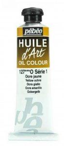 Pébéo Peinture Huile d'Art 1 Tube de 37 ml Ocre Jaune de la marque Pébéo image 0 produit