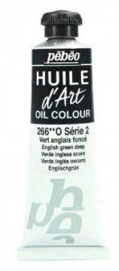 Pébéo Peinture Huile d'Art 1 Tube de 37 ml Vert Anglais Foncé de la marque Pébéo image 0 produit
