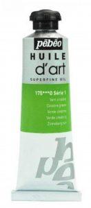 Pébéo Peinture Huile d'Art 1 Tube de 37 ml Vert Cinabre de la marque Pébéo image 0 produit