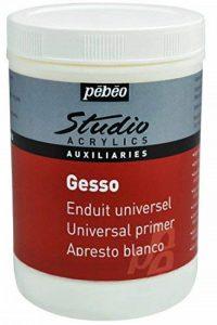 Pébéo Studio Gesso Peinture acrylique Blanc de la marque Pébéo image 0 produit