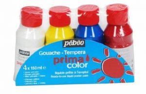 Pébéo 055590 Primacolor Pack de 4 Flacons de 150 ml de la marque Pébéo image 0 produit