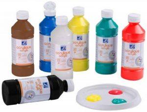 peinture acrylique 500ml TOP 4 image 0 produit