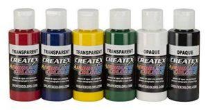 Peinture aérographe - Createx Primaire Set 6 x 60ml 5801 de la marque Createx Sets image 0 produit