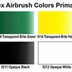 Peinture aérographe - Createx Primaire Set 6 x 60ml 5801 de la marque Createx Sets image 1 produit