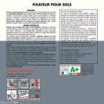 Peinture JULIEN fixasol - fixateur incolore pour sols avant Peinture 2,5L de la marque Julien image 1 produit