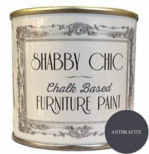 Peinture Meuble Anthracite Idéal pour créer un style shabby chic. 1litre de la marque Shabby Chic Furniture Paint image 0 produit