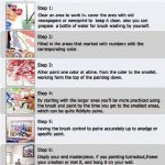 Peinture par numéro Kit, Bricolage Peinture à l'huile Dessin Cerise Toile avec des brosses Décorations de Noël Décorations Cadeaux - 16 * 20 pouces sans cadre de la marque Dreamsy image 3 produit