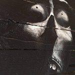 Peinture personnage de cinéma noir et blanc sur bois de palette recyclé de la marque l'âme de bois image 4 produit