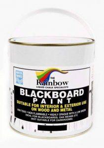 Peinture pour tableau noir - 1 litre Idéal pour créer ou restaurer les tableaux noirs de la marque Rainbow Chalk Markers image 0 produit