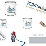 Peinture Satin Acrylique Lessivable - Gris Perle - POK SATIN - 5 L + BAC OFFERT de la marque Pok image 2 produit