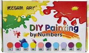 peinture sur toile de lin TOP 10 image 0 produit