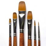 pinceau éventail peinture huile TOP 2 image 3 produit