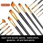pinceau éventail peinture huile TOP 9 image 2 produit