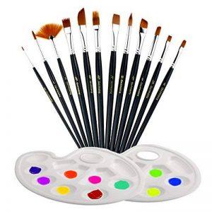 pinceaux pour aquarelle TOP 8 image 0 produit