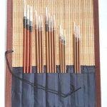 Pinceaux professionnels de la Chine pour la calligraphie et la peinture avec 16 ensembles de la marque diandiandidi image 2 produit