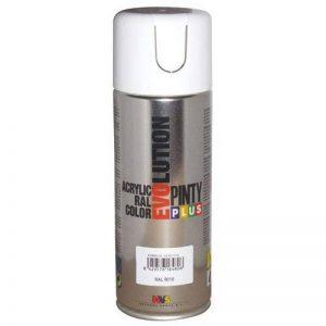 Pinty 590 Bombe 400 ml Blanc RAL 9010 Brillant de la marque Pinty image 0 produit