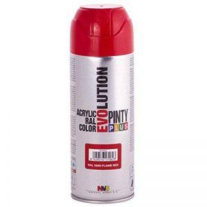 Pinty 615 Bombe 400 ml Rouge RAL 3000 Brillant de la marque Pinty image 0 produit