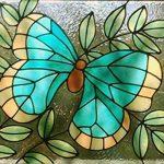 Plaid Galerie vitrée Couleur, Shimmer Aqua, 2 oz de la marque Gallery Glass image 2 produit