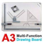 Planche à dessin multifonction Tinkertonk de format A3, ensemble pour planche à dessin carrée de la marque tinkertonk image 1 produit