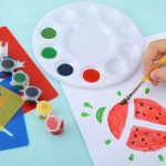 Pllieay 3pièces bac à peinture palettes 10bien ronds pour palettes Plastique DIY Craft Art Peinture de la marque Pllieay image 2 produit