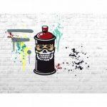 Pochoir 15x40 'Graine Créative by DTM' Street Art Visage de la marque Graine Créative by DTM image 1 produit
