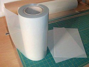 Pochoir mylar rouleau 250 microns vendus au mètre x 300mm - sérigraphie pages pas cher de la marque Ideal Stencils image 0 produit
