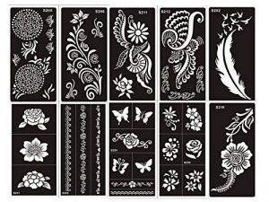 pochoir tatouage aérographe TOP 6 image 0 produit