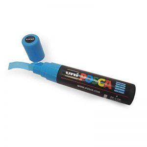 Posca Uni-Ball Marqueur Pointe biseautée PC-17K–XXL pour grands fonds–Disponible en 10couleurs de la marque Posca image 0 produit