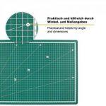 PRETEX Premium Tapis de coupe avec surface d'auto-guérison (A3), 45 x 30 cm, Vert de la marque PRETEX image 1 produit