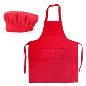 (Prix/12jeux) opromo femmes Ensemble de toile en coton tablier de cuisine et toque réglable de la marque Opromo image 0 produit