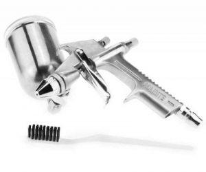 Pro Mini Pistolet de Peinture à Gravité l'Outil de Réparation des meubles ou refaire de la laque de Camion et de Voiture de la marque Micro Trader image 0 produit