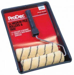 ProDec Kit de 2 rouleaux peinture en velours moyen 23 x 4,5cm PRRT008 de la marque ProDec image 0 produit
