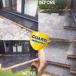 Protection et couleur Enhancer pour les patios, pierre, marbre, Brique–Protectguard WF Premium–2kg de la marque Guard Industry image 3 produit