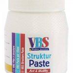 Pâte à structure VBS « Structure légère, sans grainage » 250 ml de la marque VBS image 1 produit