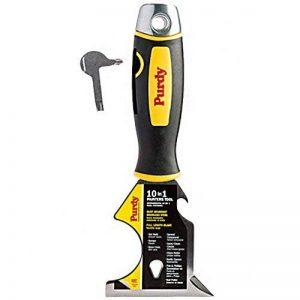 Purdy Outil de peinture multifonction 10 en 1, décapeur inox, spatule, chasse-clous de la marque Purdy image 0 produit