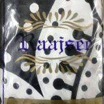 Raajsee Tentures Murales Indiennes Lotus Fleur/ Noir et Blanc Tapisserie Mandala Hippie/ Psychedelique Bohemian Rideaux Orientale Decorations/ Couvre lit Twin 140x220cms de la marque raajsee image 5 produit