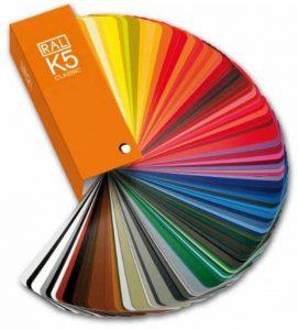 RAL Classic K5 nuancier semi-mat de la marque K5 - 2 book set image 0 produit