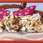 Ravensburger 28587 - Numéro D'Art Moyen Format - Chats Câlins de la marque Ravensburger image 1 produit