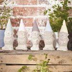Rayher Hobby moule latex en forme nain de jardin – moule en latex pour la fabrication d'un moulage de statuette en bougie, plâtre ou savon – moule de 8 x 21,5 cm, 600 g de capacité – rouge de la marque Rayher Hobby image 2 produit