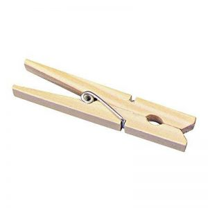 Rayher pince à linge en bois – pince à linge en un lot de 100 – pince à linge bois idéal pour vos activités de loisirs créatifs & scrapbooking – bois de la marque Rayher Hobby image 0 produit