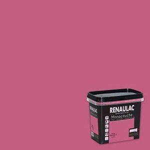 Renaulac Peinture monocouche multisupports Rose Pétunia Satin 0,75L - 8m² de la marque Renaulac image 0 produit