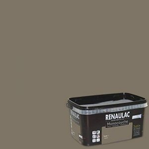 Renaulac Peinture monocouche multisupports Taupe 1 Satin 2,5L - 25m² de la marque Renaulac image 0 produit