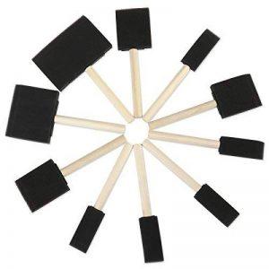ROSENICE Outil à éponge de peinture à lame à mousse avec poignées en bois dur Ensemble de 10 de la marque ROSENICE image 0 produit